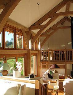 Contemporary oak frame