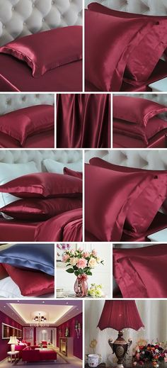 Silk Pillowcase Oxford 19MM at OOSilk