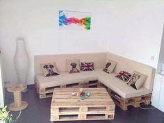 Canapé En Palette Facebook #deco #design #DIY