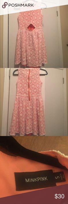 Minkpink dress Sleeveless Minkpink dress with cutout MINKPINK Dresses Mini