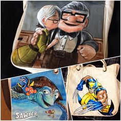 Hey, I found this really awesome Etsy listing at https://www.etsy.com/listing/191703714/hand-painted-rope-tote-bag-character-of