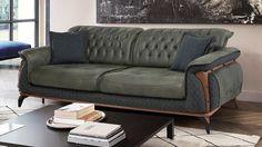 Oscar Bin500 Yataklı Koltuk Takımı Living Room Sofa Design, Bedroom Furniture Design, Living Room Chairs, Bamboo Furniture, Sofa Furniture, Luxury Furniture, Funky Chairs, Vintage Sofa, Moda Emo
