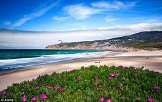 Spectacular: The unspoilt Guincho beach is a paradise for surfers and nature lovers alike - Waves of pleasure: Portugal's spectacular Costa da Prata is heaven for surfers, Guincho, Lisbon, Portugal