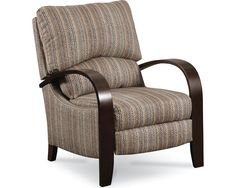@Overstock - This riverside recliner features stylish bent wood arms and legs. This chair is upholstered in a durable charcoal fabric and has a sofu2026  sc 1 st  Pinterest & Overstock - This riverside recliner features stylish bent wood ... islam-shia.org