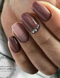 Trendy Manicure Ideas In Fall Nail Colors;Purple Nails; Fall Nai… Trendy Manicure Ideas In Fall Nail Colors;Purple Nails; Fall Nai…,Nailart Trendy Manicure Ideas In Fall Nail Colors;Purple Nails; Fall Manicure, Spring Nails, Manicure Ideas, Manicure Colors, Summer Nails, Nails For Autumn, Nail Ideas For Fall, Acrylic Nails Autumn, Fall Gel Nails