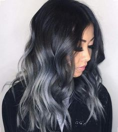 asian blonde ombre