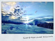 Sunset @ Passo Lavazè