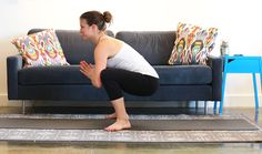 Yoga for Runners Squat Stretch