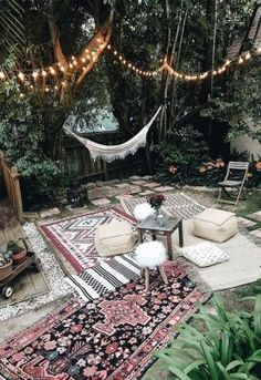 Bohemian Interior Design You Must Know Design Rustic Scandinavian Dining Chic Modern Luxury Vintage Decorating DIY Colors Dark Boho Bedroom Living Room Minimalist Eclectic Style Gipsy Decoration Urban Outfitters Restaurant Art Livingroom Natural Beach T Bohemian Style Home, Bohemian Patio, Bohemian Rug, Bohemian Living, Modern Bohemian, Bohemian Garden Ideas, Bohemian Grove, Boho Garden Party, Vintage Garden Parties