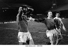 soccer-fa-cup-semi-final-second-replay-manchester-united-v-leeds-united, a devastated David Sadler and Nobby Stiles at the final whistle