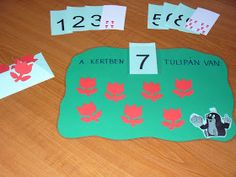 Montessori Játéktár: Ültessünk tulipánt! Montessori, Kids Rugs, Cards, Decor, Decoration, Decorating, Dekoration, Deck, Maps