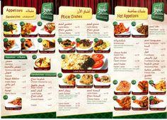 Arabic Food Menu Design Restaurant menu design that can give you inspiration Home design
