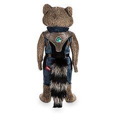 Marvel Rocket Raccoon Plush Guardians of the Galaxy Vol. 2 Medium 17 Inch