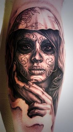 Amazing forearm tattoo. Love this.