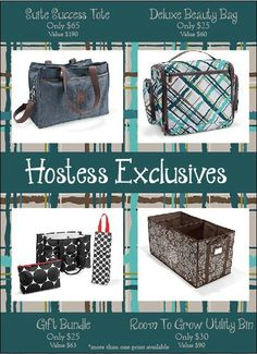 Thirty One Hostess Exclusives - Contact me to host an online catalog party! I would love to work with you! Thirty One Hostess, Thirty One Fall, Thirty One Party, Thirty One Gifts, Thirty One Business, Thirty One Consultant, 31 Gifts, 31 Bags, Messenger Bag