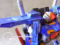Vicious Project 1/100 ZZ Gundam - Custom Build - Gundam Kits Collection News and Reviews