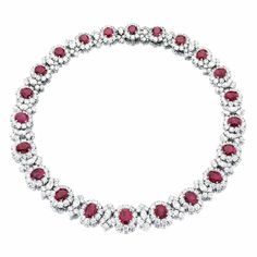 Ruby and diamond necklace, Bulgari | Lot | Sotheby's