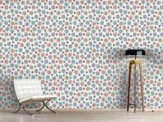 Design #Tapete Silvias Blumen Extrem