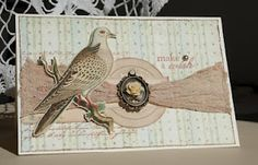 Such pretty vintage-looking cards on this blog.