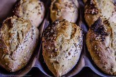 Zapach chleba: Listopadowe bułki żytnie