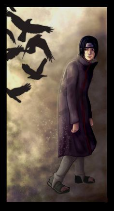 In The Shadows Of His Crows by Valhalrion.deviantart.com on @DeviantArt