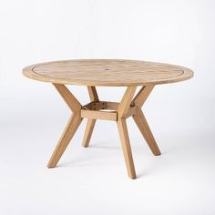 Read reviews and buy Bluffdale 6 Person Wood Round Patio Dining Table - Threshold™ designed with Studio McGee at Target. Choose from contactless Same Day Delivery, Drive Up and more. Wood Patio, Patio Dining, Patio Chairs, Dining Set, Round Patio Table, Dining Room, Patio Loveseat, Studio Mcgee, Wood Rounds