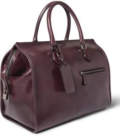 Berluti leather bag holdall