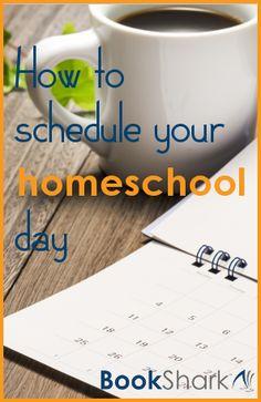 How to Schedule Your Homeschool Day