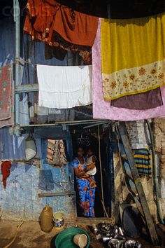 Shack in Mumbai's Slum