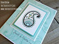 Check out the awesome video tutorial on my blog for making this beautiful card using Stampin Up