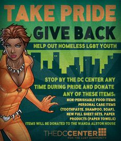 A great way to help out during Pride Season