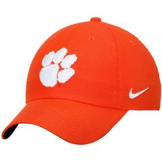 f3831514c47 Nike Clemson Tigers Orange Heritage 86 Authentic Adjustable Performance Hat