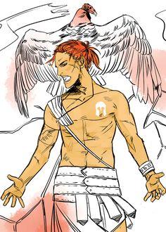 hermes messenger of gods friends