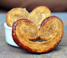 Vanilla Sugar Palmiers - Get your free daily fix of great baking recipes at http://www.allbakingrecipes.com/recipes/