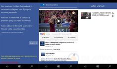 Video Downloader for Facebook – L'app per scaricare i video di Facebook su Windows 10 Mobile! http://www.sapereweb.it/video-downloader-for-facebook-lapp-per-scaricare-i-video-di-facebook-su-windows-10-mobile/        Video Downloader for Facebook Video Downloader for Facebook è una nuova applicazione realizzata da GSR Team, la software-house che ha realizzato app apprezzate come Film Online, Concert Online, Compress my video, arrivata da poche ore sullo Store di Windows