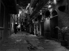 New Orleans: Pirates Alley by TravisPhotographics.deviantart.com