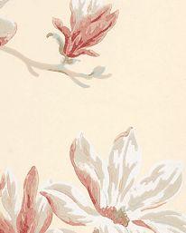 Tapet Marchwood Pink/Beige från Colefax & Fowler
