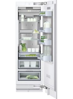 Abt has special shipping on the Gaggenau Panel Ready Built-In All Refrigerator Buy Gaggenau Refrigerator from an authorized retailer for free tech support. Kitchen Tools, Kitchen Appliances, Kitchen Ideas, Kitchens, Glass Shelves, Wood Paneling, Bathroom Medicine Cabinet, Kitchen Remodel, Cuisine