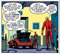 "An untold tale of 70s ""Spider-Man/Human Torch."" Is this a slot car race? Writer Dan Slott (""Superior Spider-Man"") remakes the Spider-Mobile storyline. Pencils by Ty Templeton (""Batman Adventures"")."