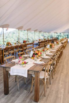 We love the sweet simplicity this wedding reception decor is serving up. Wedding reception tables and details by Larissa Cleveland Photography. Napa California, California Wedding, Floral Wedding Decorations, Wedding Reception Tables, Martha Stewart Weddings, Wedding Couples, Cleveland, Bride Groom, Envy