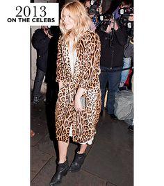 Leopard-Print Pony Skin Coat ( D&G)