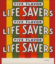 Life Savers roll wrapper - Five Flavor - BRING them back! Lifesaver Candy, Barbie Food, Doll Food, Candy Labels, Candy Wrappers, Candy Art, Mixed Fruit, Bottle Bag, Printable Labels