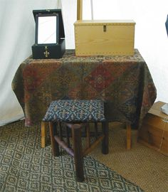 Camp Furniture for the Reenactor