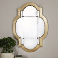 Uttermost Andorra Wall Mirror - 28.75W x 40.5H in. | from hayneedle.com