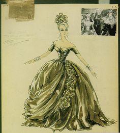 Frances Stevens, Grace Kelly | To Catch A Thief | Edith Head | 1955