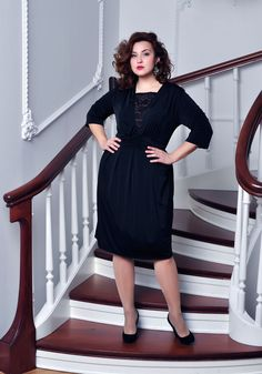 Plus Size Casual Dress by BeIn16.com