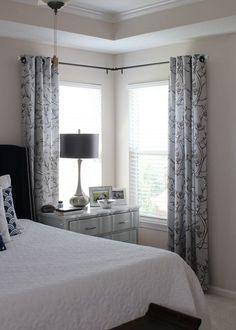New Curtains for Basement Window