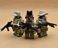 A Set Of Custom Lego Minifigure US Army Navy Seals by USBCUSTOM
