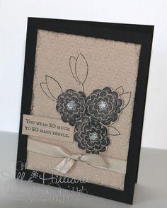 Jill's Card Creations: Raining Flowers