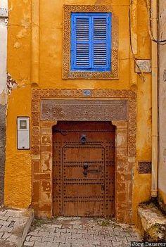 Facade in Azemmour